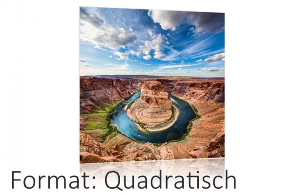 Ihr Foto als Poster Druck auf Fotopapier - Quadratisch Format Auswahl