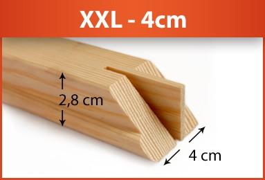 XXL Galerie Keilrahmenleisten - Keilverzinkt - FSC®-zertifizierter Holzkeilrahmen