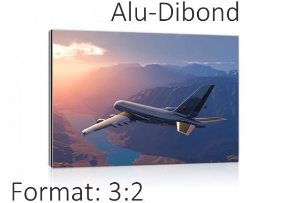 Ihr Foto auf ALU-Dibond - 3:2 Format Auswahl